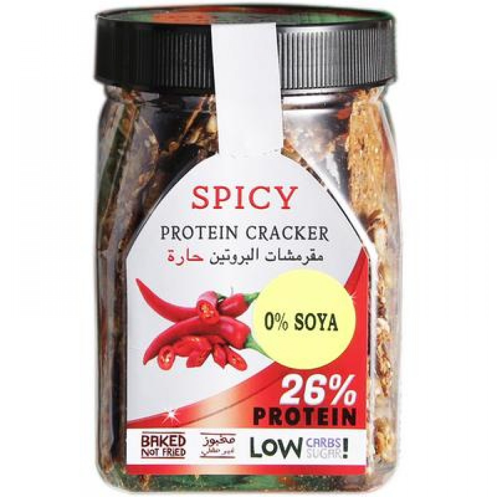 Spicy Protein Crackers