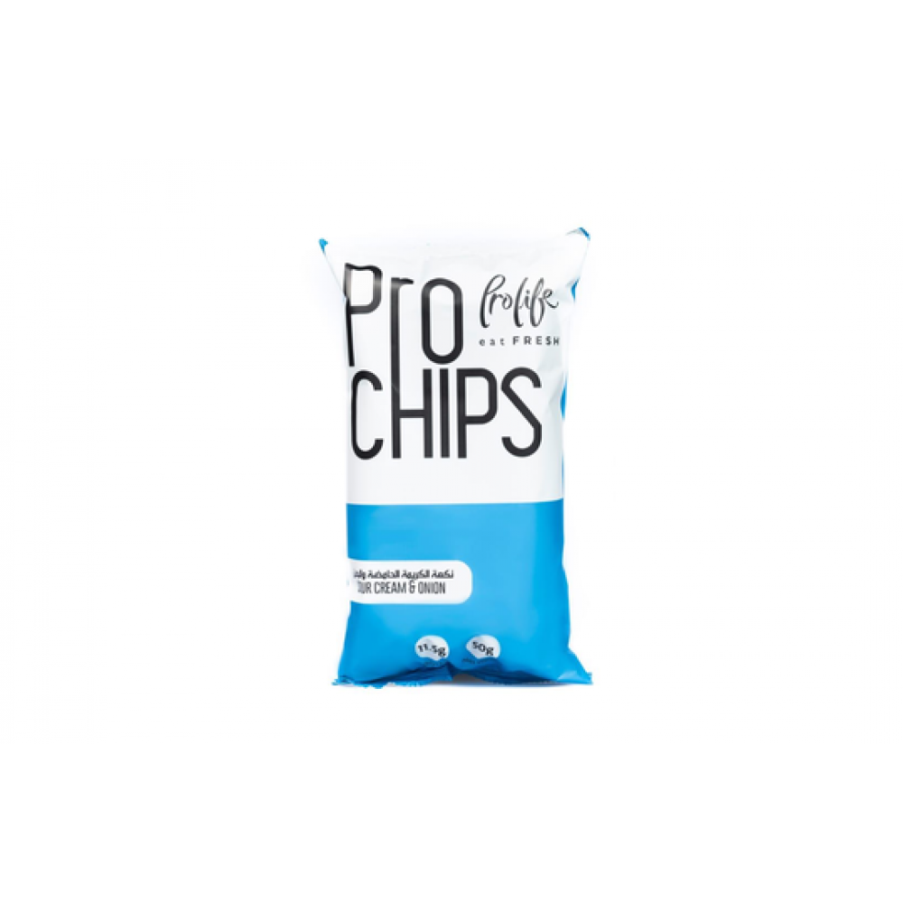 PRO LIFE PROTEIN CHIPS SOUR CREAM & ONION